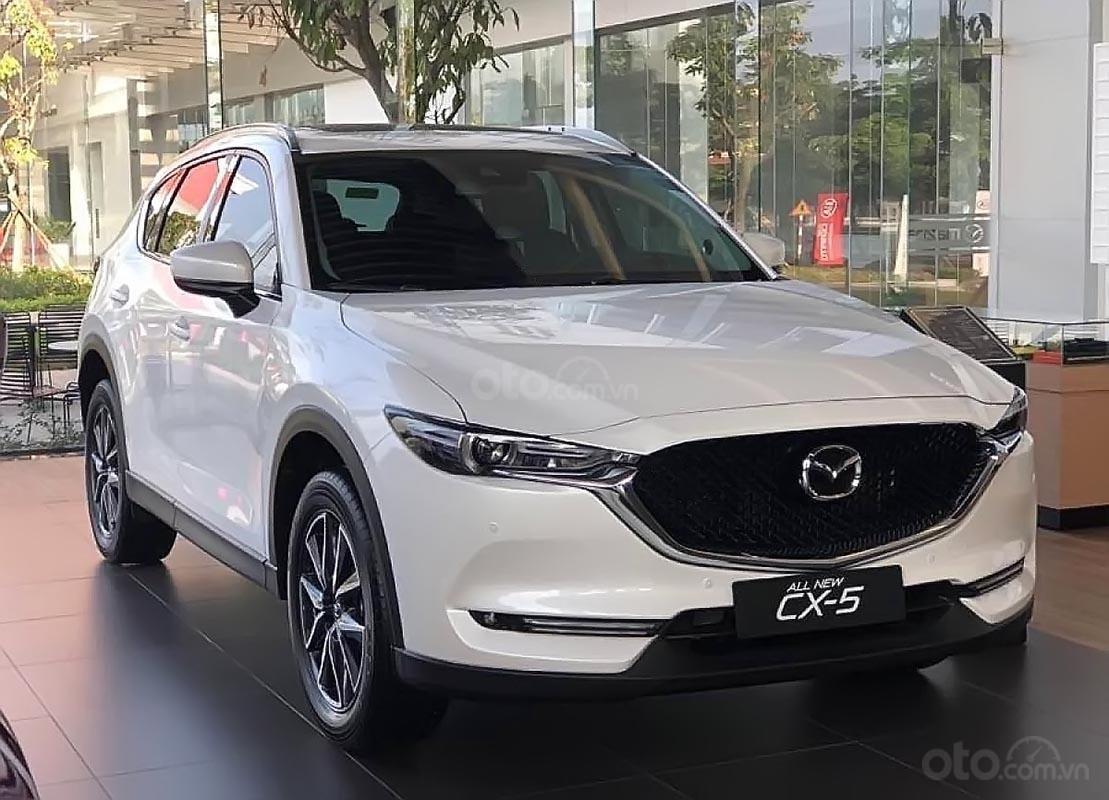 Bán Mazda CX 5 2.0 AT đời 2019, màu trắng (2)