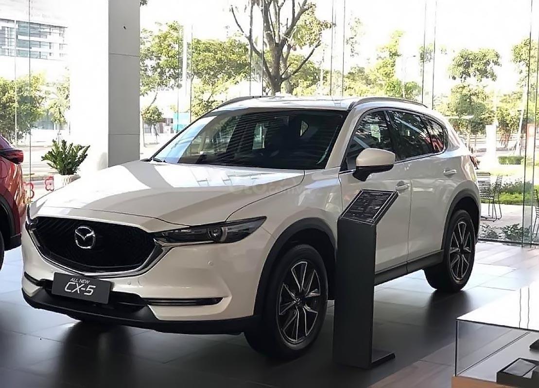 Bán Mazda CX 5 2.0 AT đời 2019, màu trắng (1)