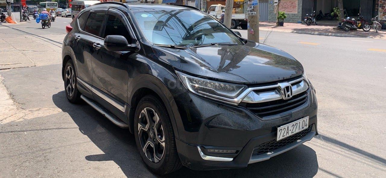 Bán ô tô Honda CR V 1.5L Tubor đời 2018, màu đen-0