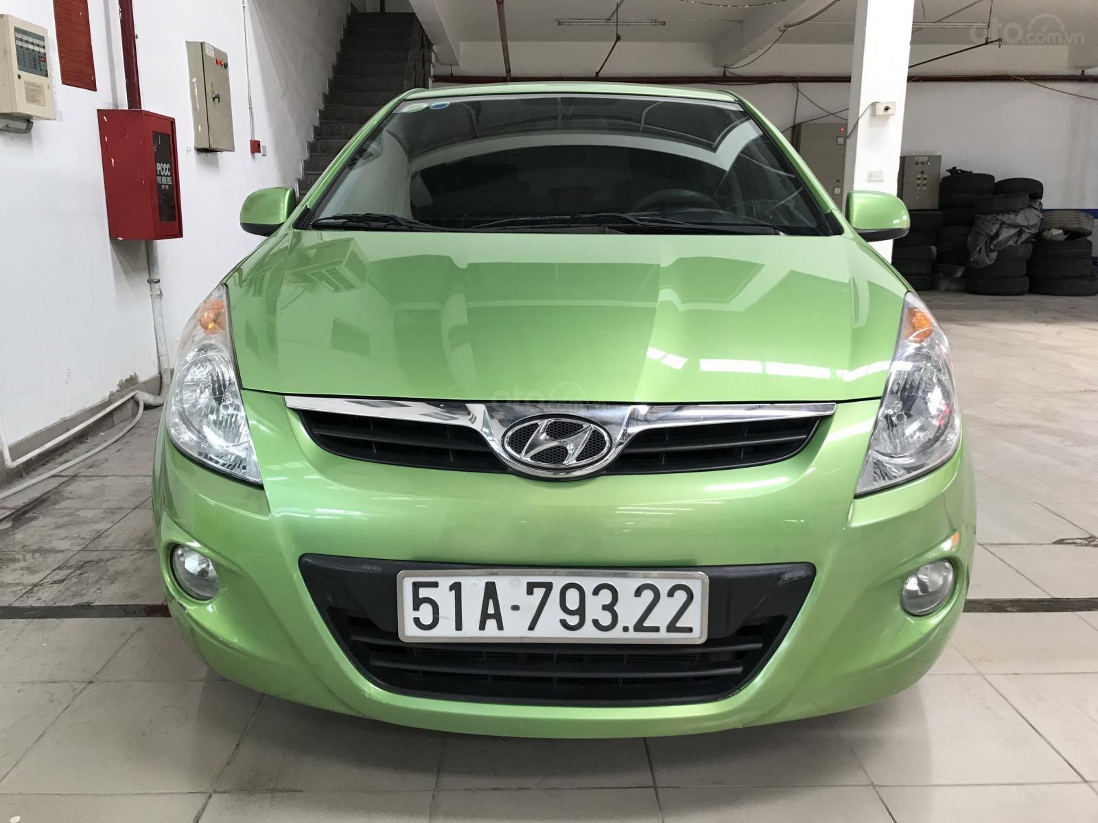 Bán Hyundai I20 1.4AT nhập Ấn Độ 2012, đăng ký 2014 biển Sài Gòn, số tự động 5 cửa (1)