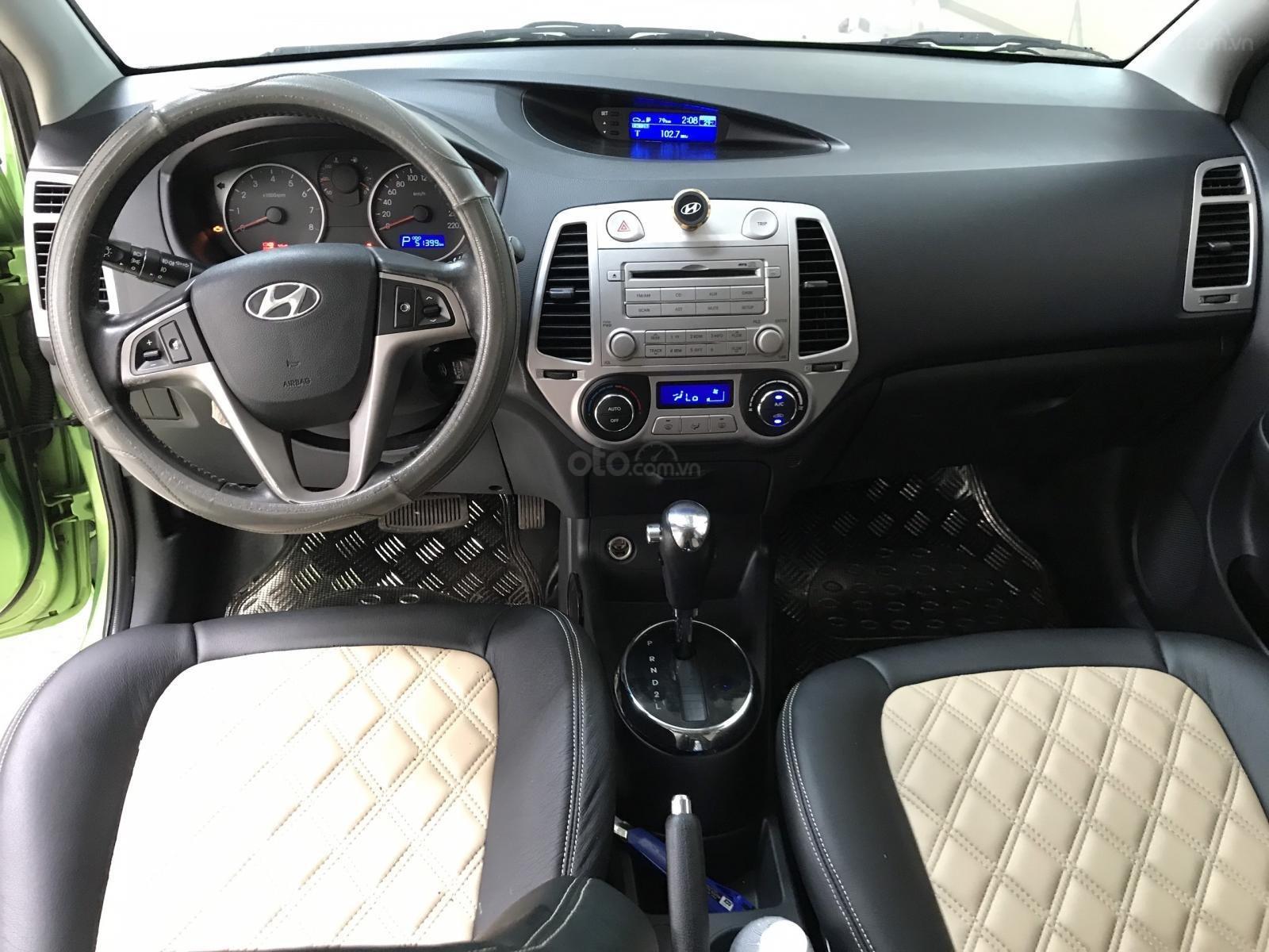 Bán Hyundai I20 1.4AT nhập Ấn Độ 2012, đăng ký 2014 biển Sài Gòn, số tự động 5 cửa (10)