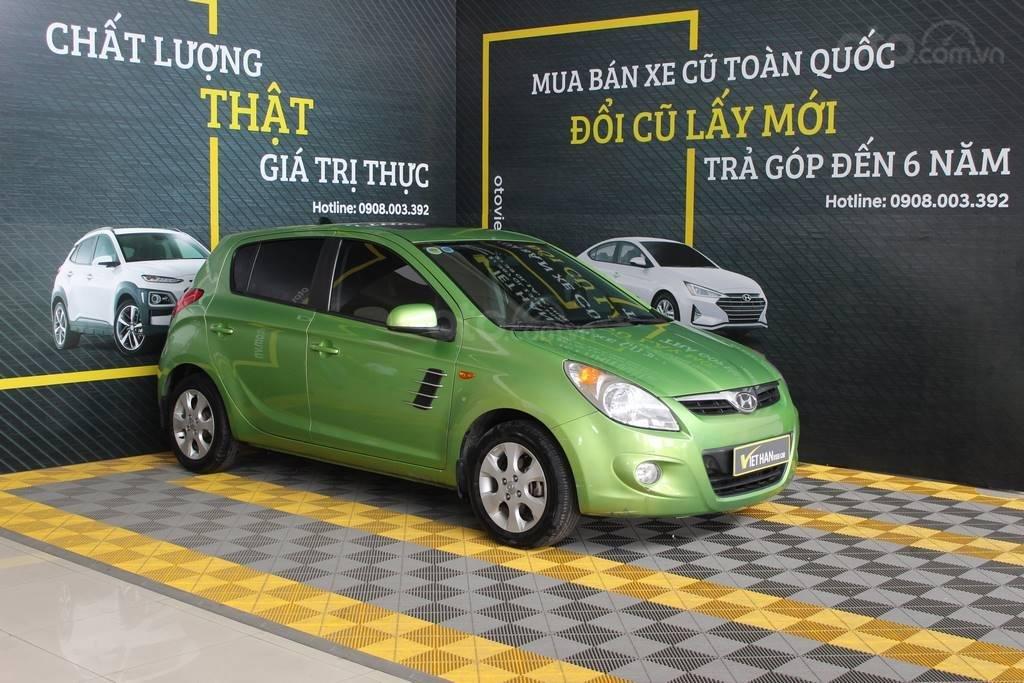 Bán xe Hyundai i20 1.4AT đời 2012, màu xanh lục, nhập khẩu, giá tốt (4)