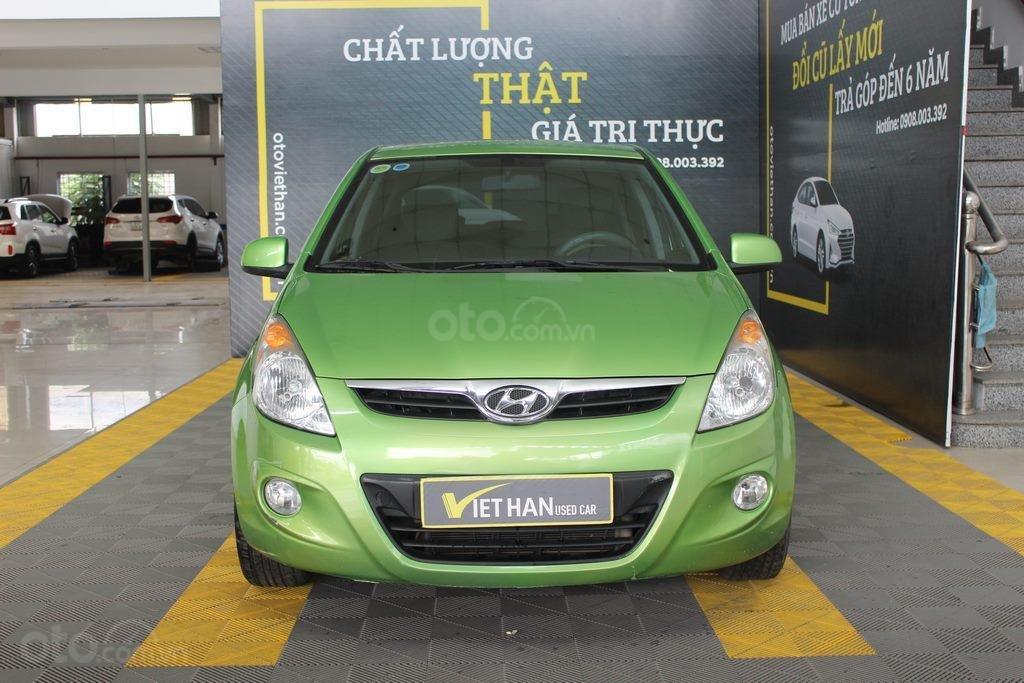 Bán xe Hyundai i20 1.4AT đời 2012, màu xanh lục, nhập khẩu, giá tốt (2)