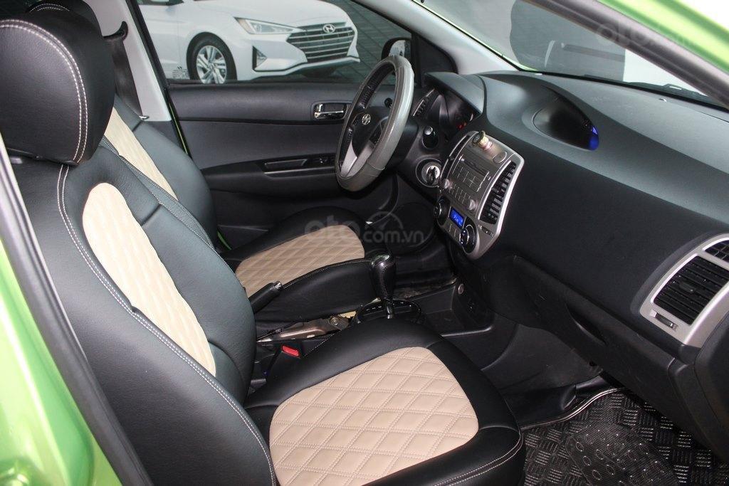 Bán xe Hyundai i20 1.4AT đời 2012, màu xanh lục, nhập khẩu, giá tốt (7)