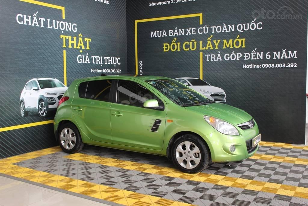 Bán xe Hyundai i20 1.4AT đời 2012, màu xanh lục, nhập khẩu, giá tốt (6)
