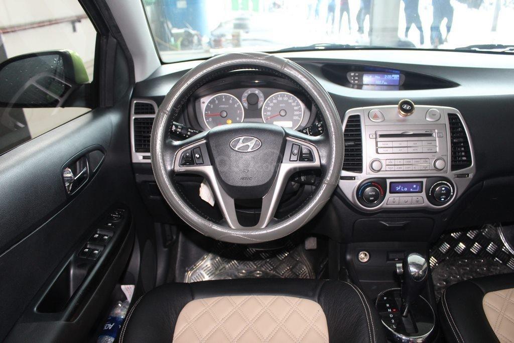 Bán xe Hyundai i20 1.4AT đời 2012, màu xanh lục, nhập khẩu, giá tốt (11)