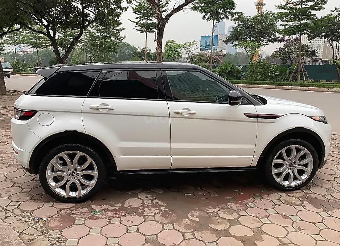 Bán LandRover Range Rover Evoque Dynamic đời 2012, màu trắng, nhập khẩu (3)
