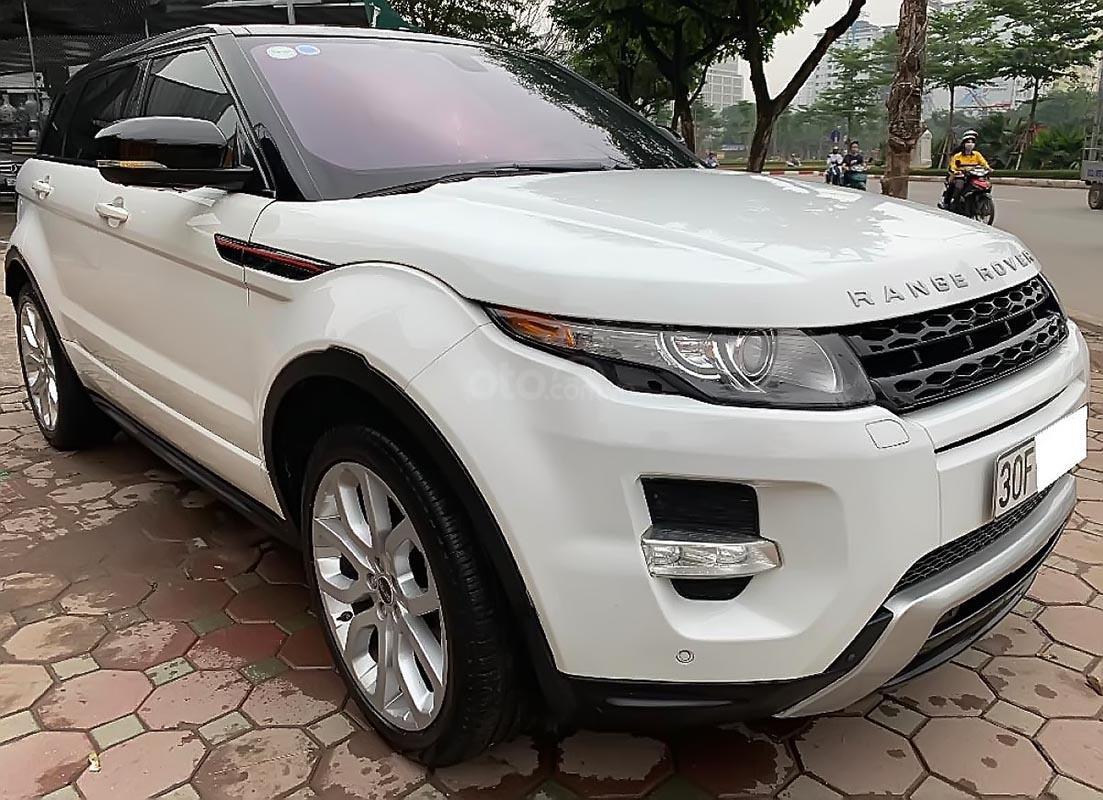 Bán LandRover Range Rover Evoque Dynamic đời 2012, màu trắng, nhập khẩu (1)