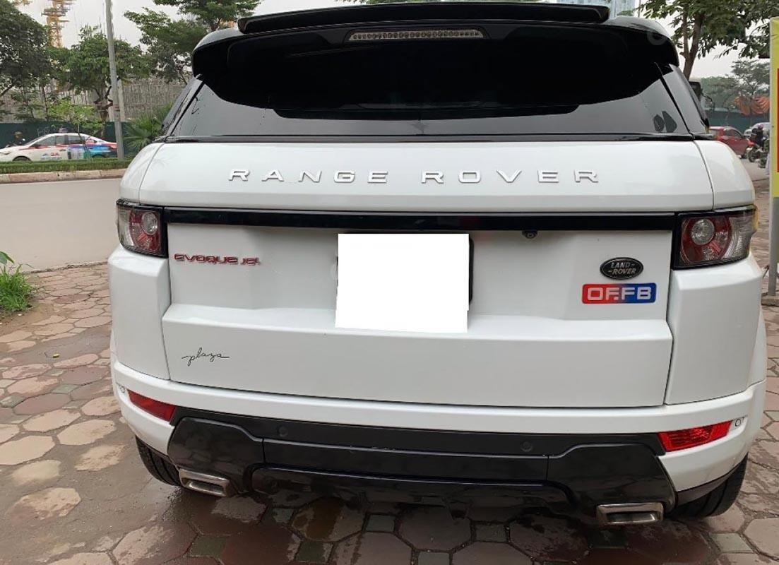 Bán LandRover Range Rover Evoque Dynamic đời 2012, màu trắng, nhập khẩu (5)