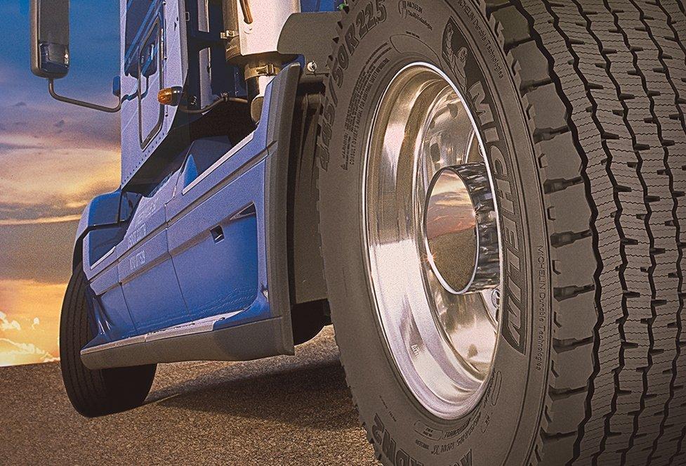 Lốp Michelin là sự lựa chọn hàng đầu của các dòng xe tải hạng nặng.