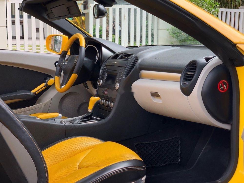 Bán Mercedes SLK350 2008, màu vàng, nhập khẩu (7)