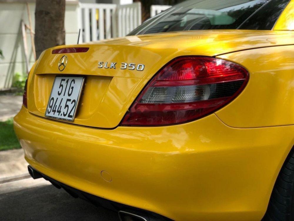 Bán Mercedes SLK350 2008, màu vàng, nhập khẩu (12)