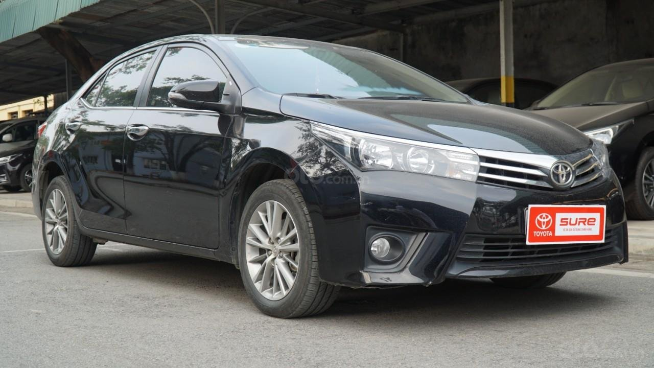Bán xe Toyota Corolla Altis đời 2016, màu đen (1)