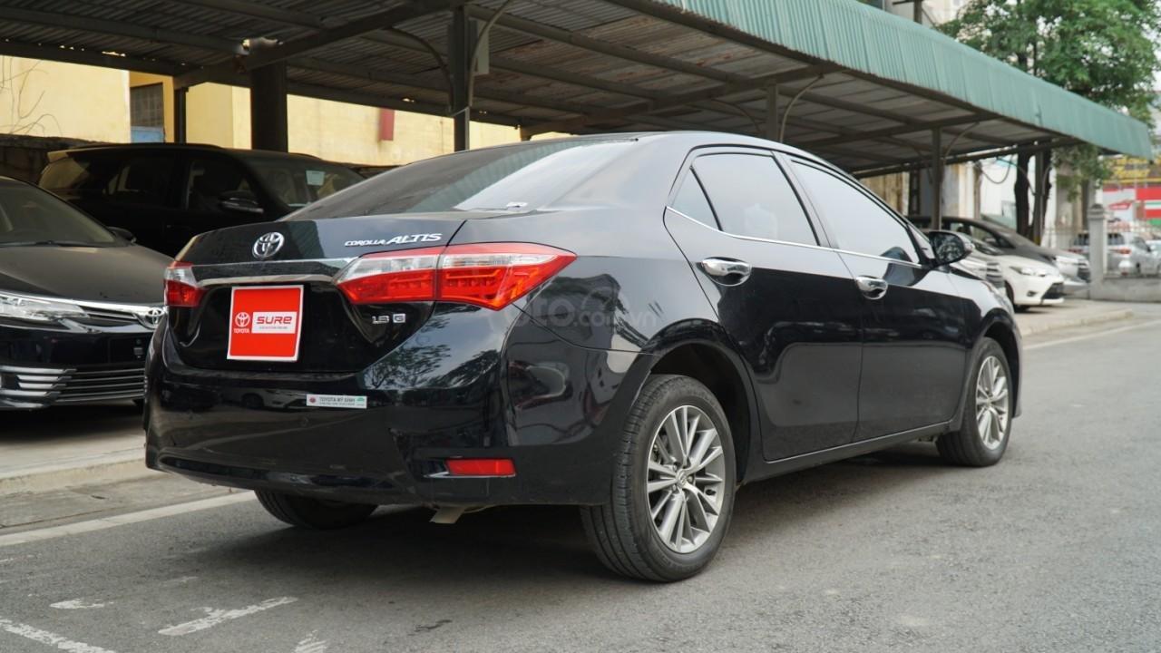 Bán xe Toyota Corolla Altis đời 2016, màu đen (2)