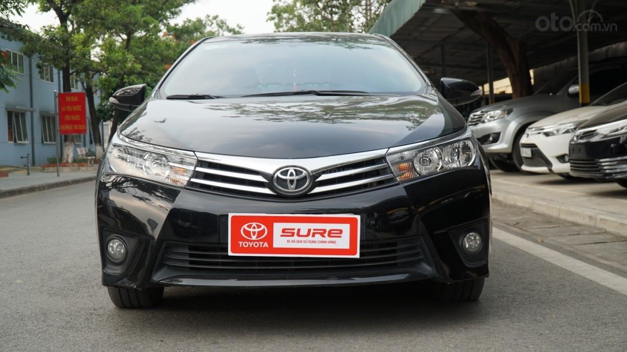 Bán xe Toyota Corolla Altis đời 2016, màu đen (5)