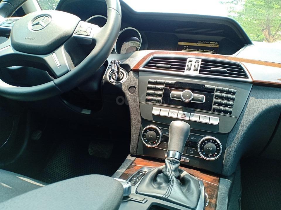 Bán ô tô Mercedes C250 sản xuất 2011, màu trắng, giá tốt, xe cực đẹp (13)
