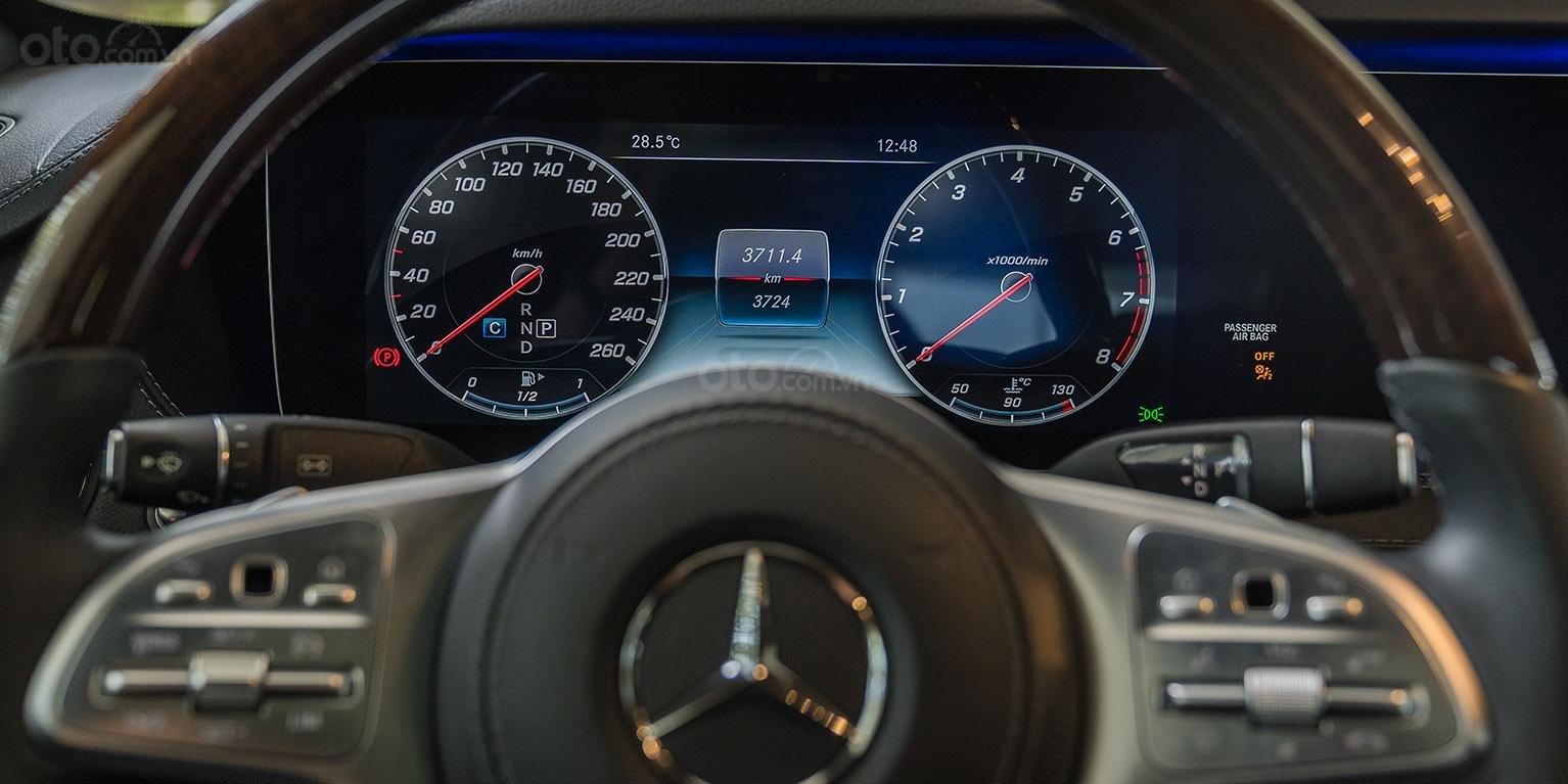 Bán Mercedes-Benz S450L 2018, trắng/đen, đi 3.800km, xe cũ đã qua sử dụng chính hãng-6