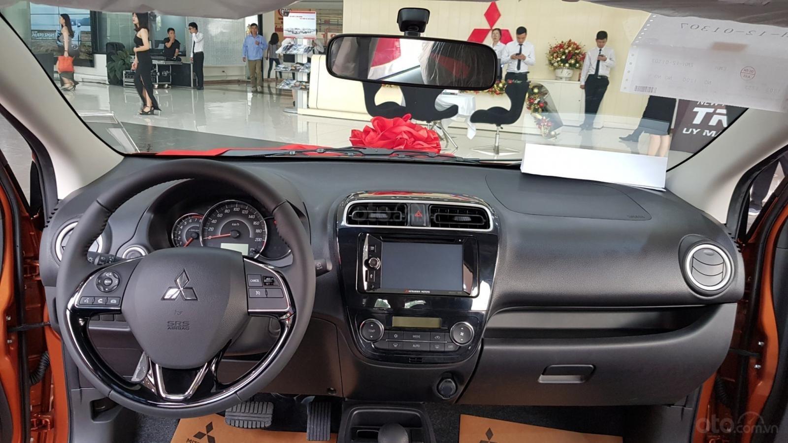 Bán xe Mitsubishi Mirage năm 2019, màu đỏ, nhập khẩu nguyên chiếc (6)