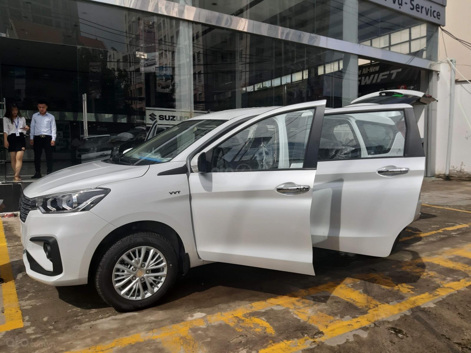 Bán xe Ertiga GLX 2019 mà trắng-2