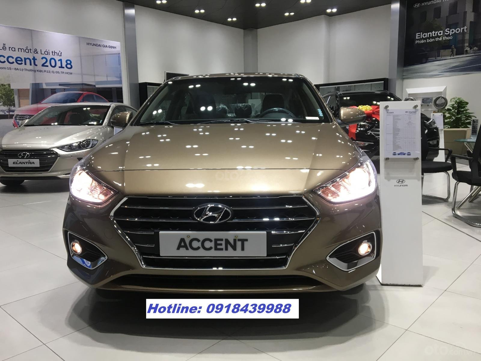 All New Accent 2019 MT FULL, giao xe ngay, thanh toán 145tr - LH: 0918439988-0