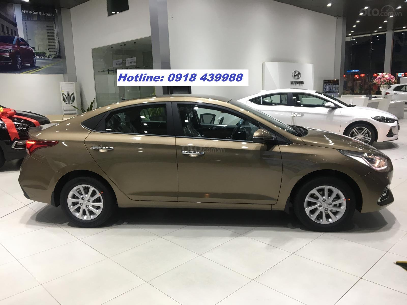 All New Accent 2019 MT FULL, giao xe ngay, thanh toán 145tr - LH: 0918439988-1