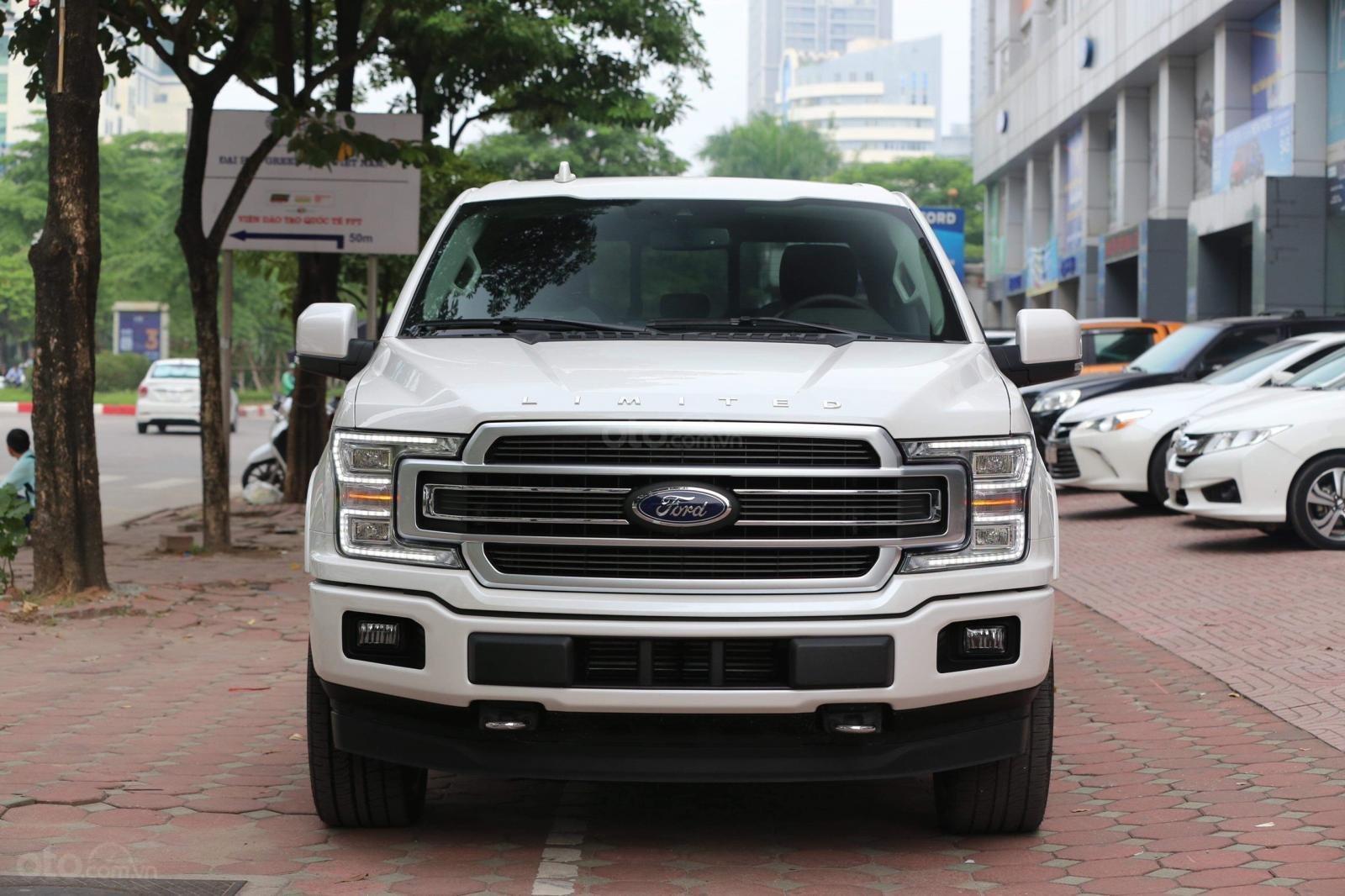 Bán Ford F 150 Limited đời 2019, màu trắng, nhập khẩu nguyên chiếc (1)