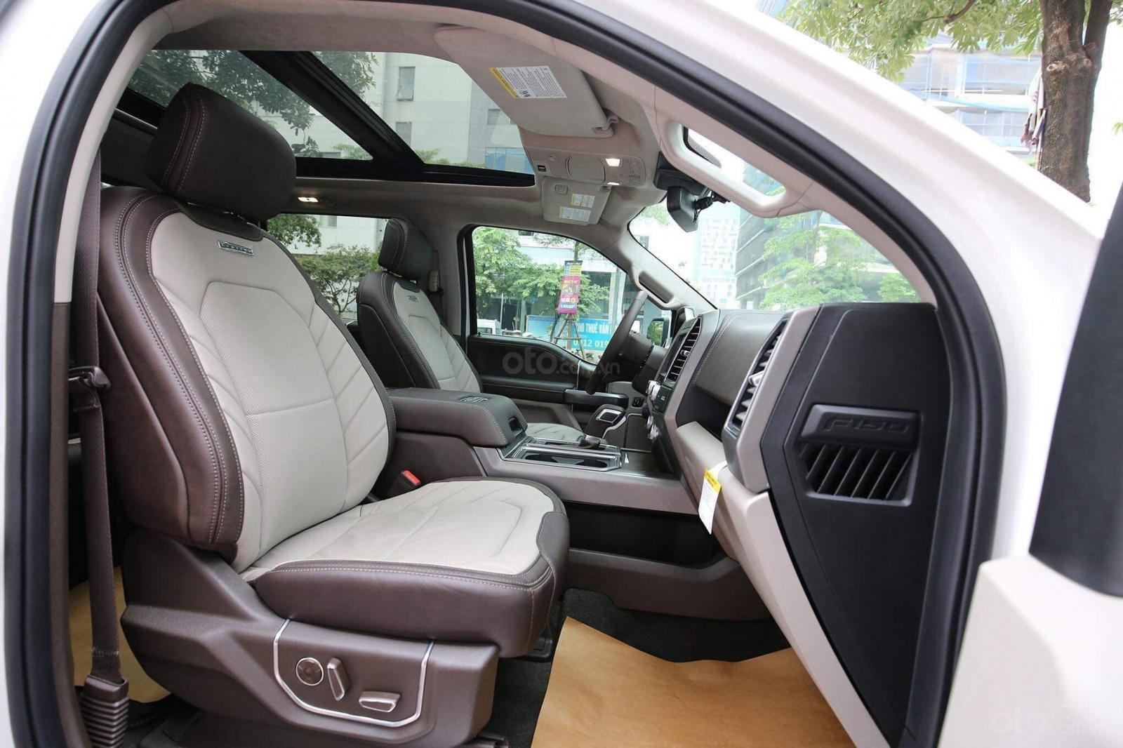 Bán Ford F 150 Limited đời 2019, màu trắng, nhập khẩu nguyên chiếc (7)
