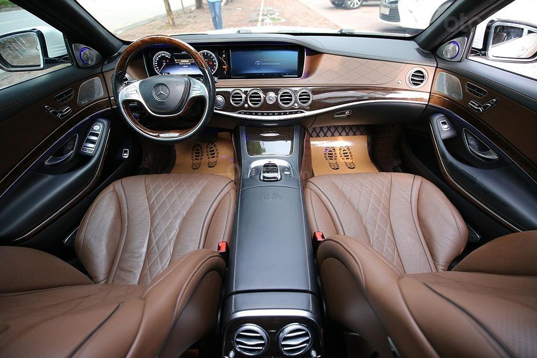 Bán ô tô Mercedes Maybach S400 2016, màu trắng, chạy hơn 2 vạn (4)