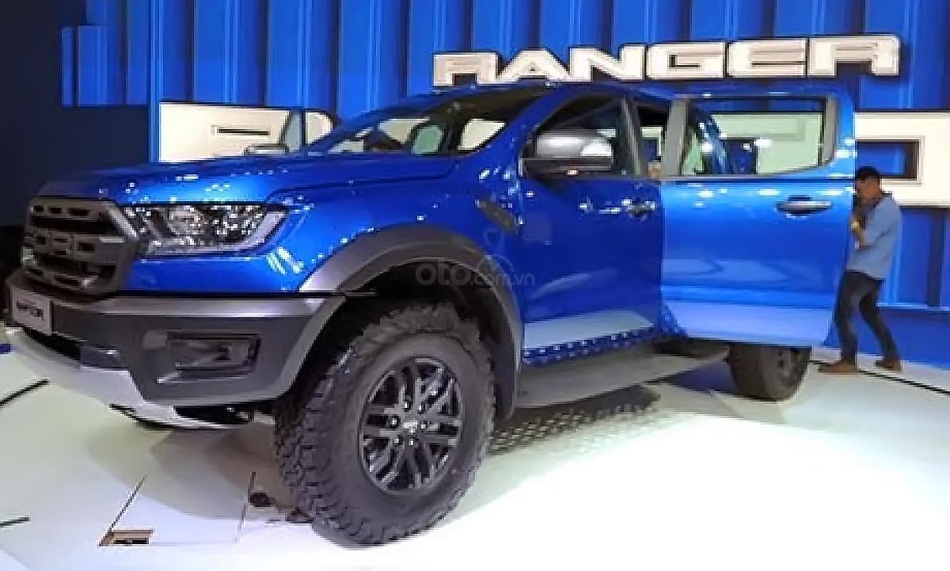 Bán xe Ford Ranger Raptor 2.0L 4x4 AT năm 2019, màu xanh lam, nhập khẩu (2)