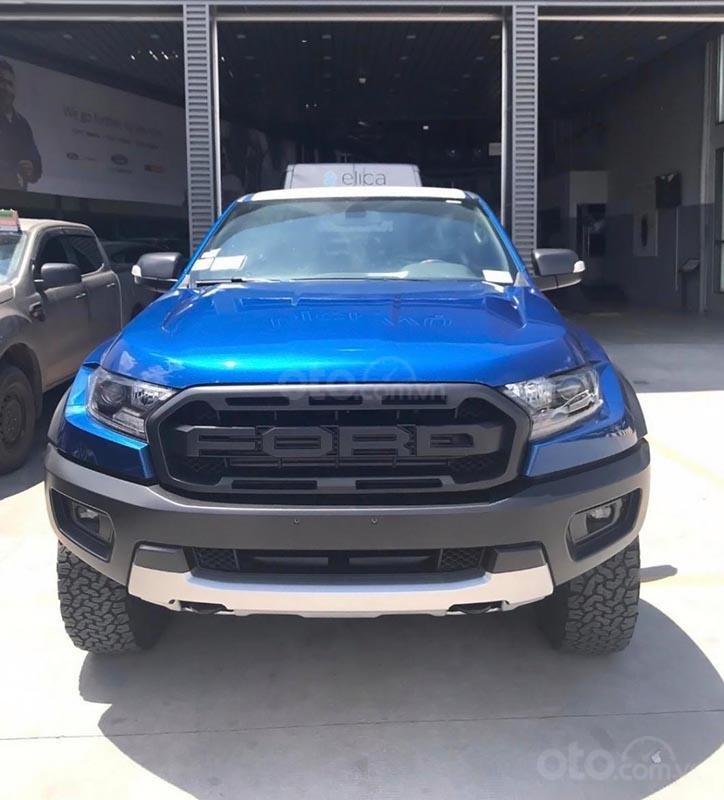Bán Ford Ranger Raptor 2.0L 4x4 AT sản xuất 2019, màu xanh lam, xe nhập (1)