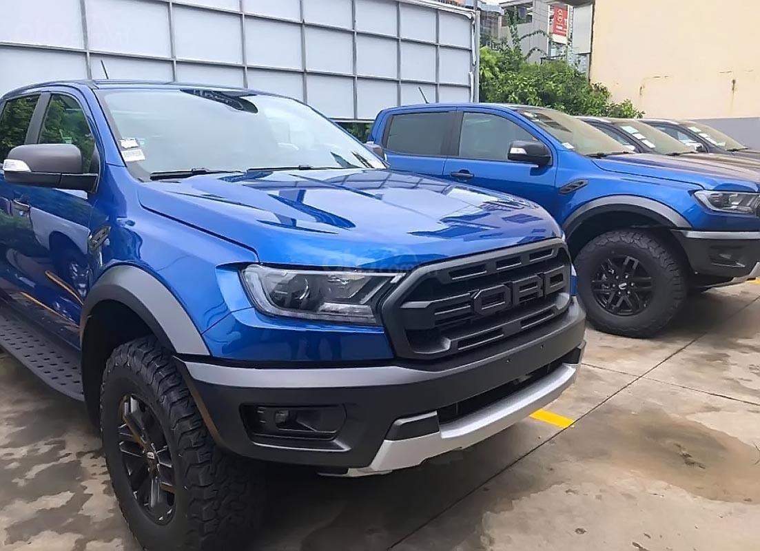 Bán Ford Ranger Raptor 2.0L 4x4 AT sản xuất 2019, màu xanh lam, xe nhập (2)