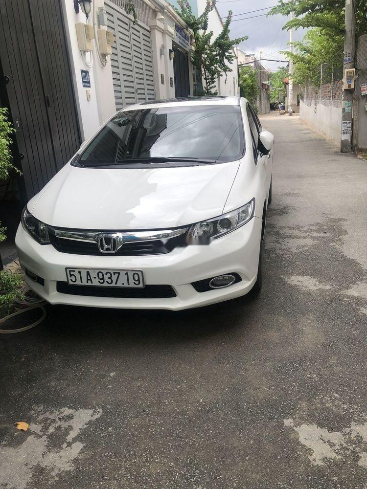 Chính chủ bán Honda Civic sản xuất 2014, màu trắng (3)