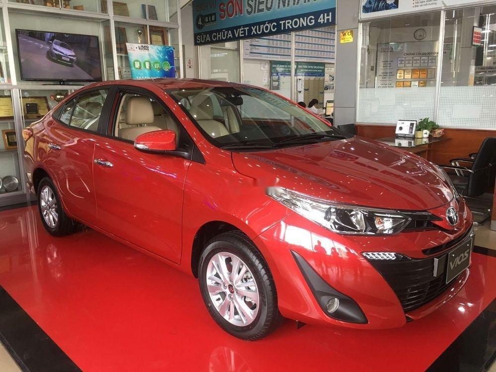 Bán xe Toyota Vios đời 2019, màu đỏ, giao xe nhanh (1)