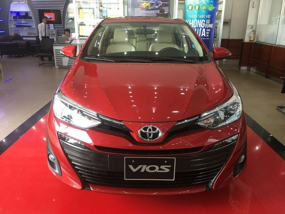 Bán xe Toyota Vios đời 2019, màu đỏ, giao xe nhanh (2)