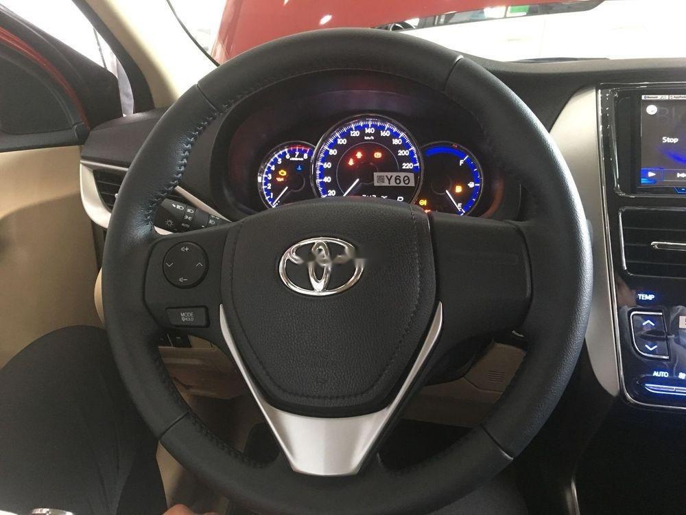 Bán xe Toyota Vios đời 2019, màu đỏ, giao xe nhanh (5)