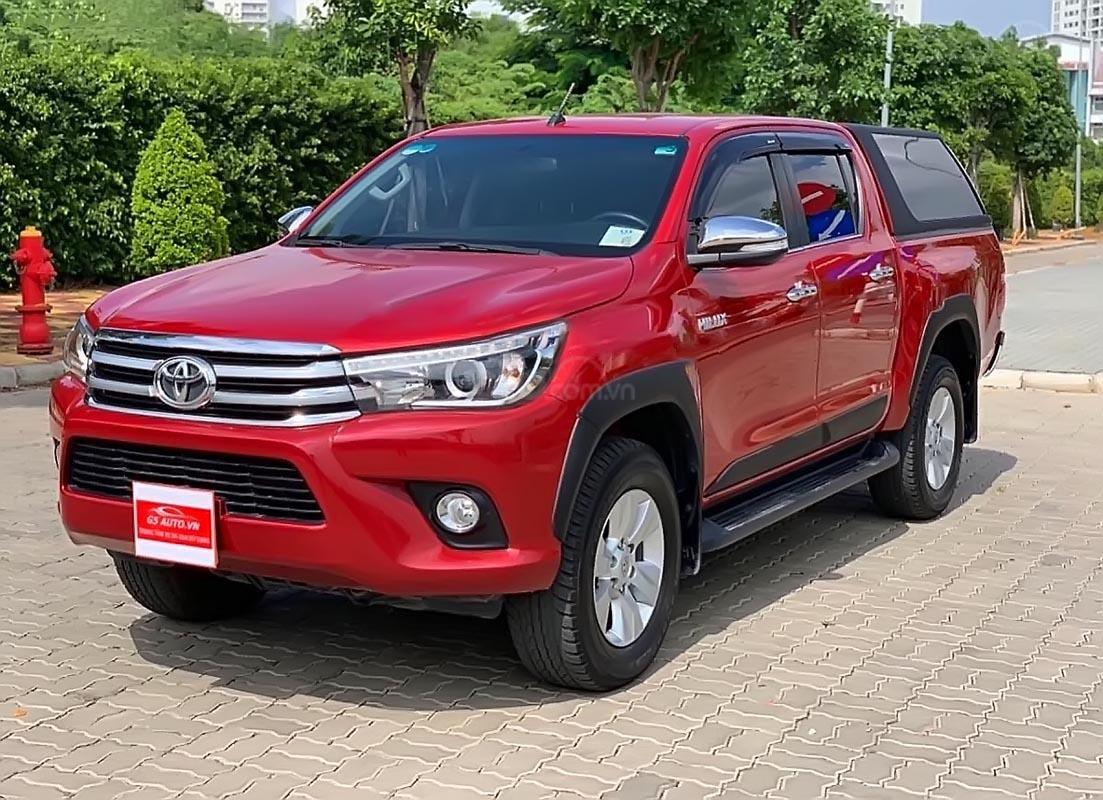 Cần bán Toyota Hilux G 2.8 AT 4x4 sản xuất 2016, màu đỏ, xe nhập (5)