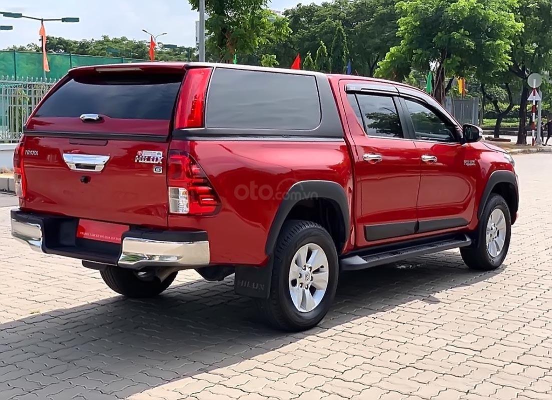 Cần bán Toyota Hilux G 2.8 AT 4x4 sản xuất 2016, màu đỏ, xe nhập (1)