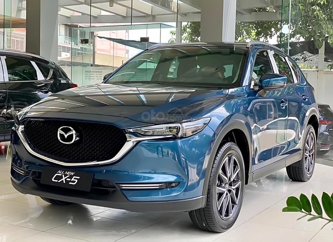 Bán Mazda CX 5 2.0 AT đời 2019, màu xanh lam (1)