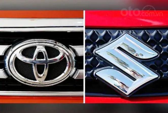 Logo xe Toyota và Suzuki