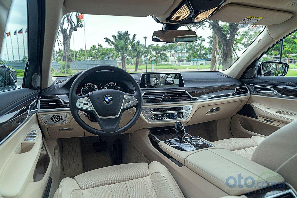 Đánh giá xe BMW 730Li 2019 có nội thất kiểu quý tộc.