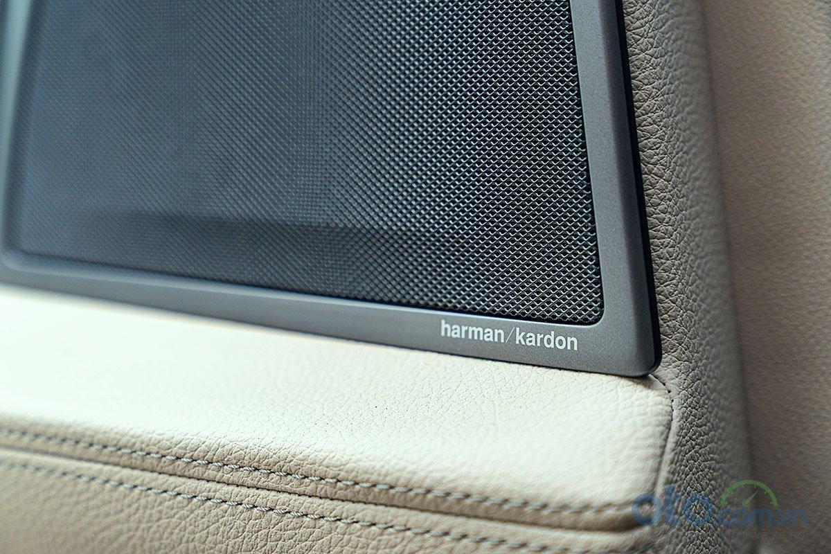 Đánh giá xe BMW 730Li 2019: Hệ thống âm thanh Harman Kardon.