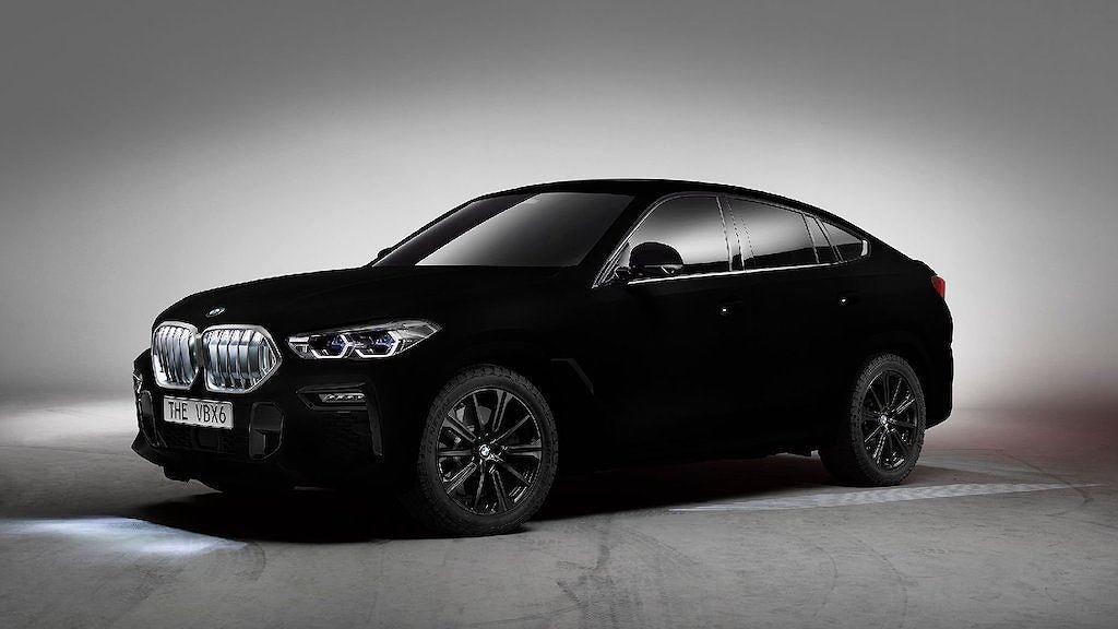 """BMW X6 2020 Vantablack - Phiên bản đặc biệt với màu sơn """"đen hơn than"""" a1"""