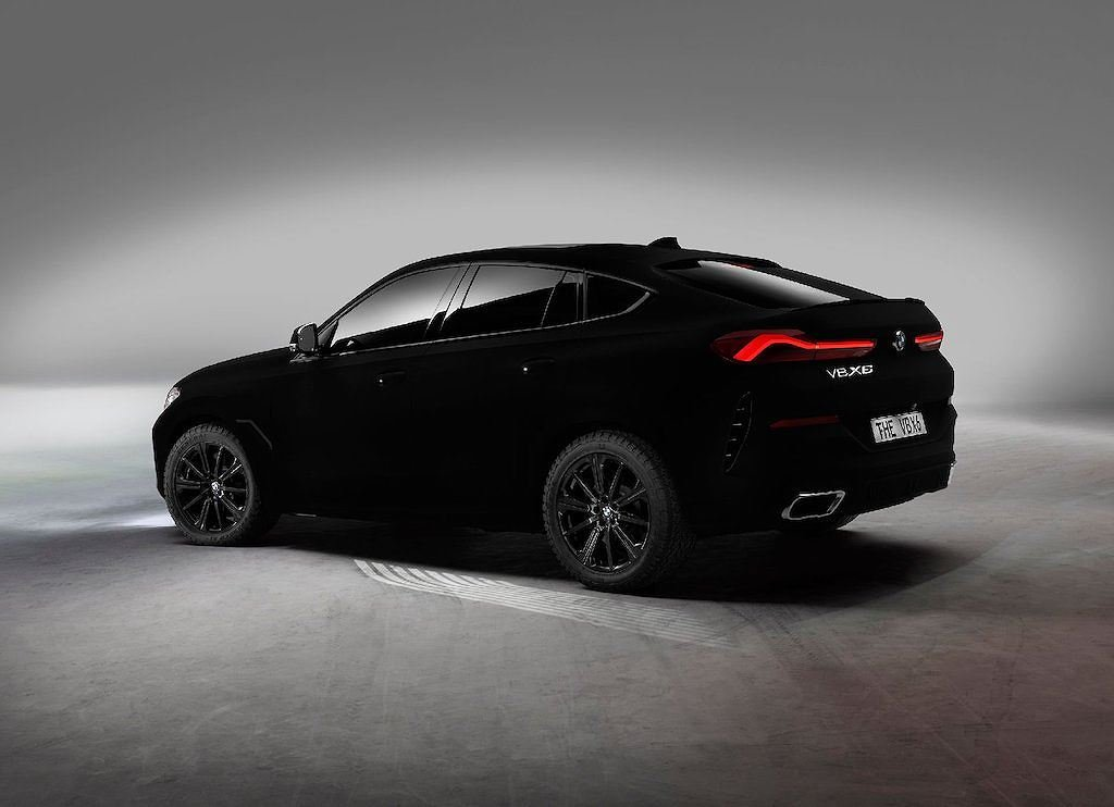 """BMW X6 2020 Vantablack - Phiên bản đặc biệt với màu sơn """"đen hơn than"""" a2"""