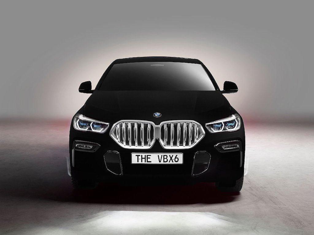 """BMW X6 2020 Vantablack - Phiên bản đặc biệt với màu sơn """"đen hơn than"""" a3"""
