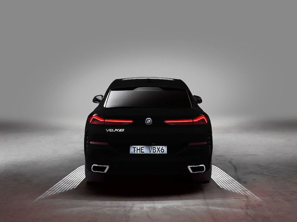 """BMW X6 2020 Vantablack - Phiên bản đặc biệt với màu sơn """"đen hơn than"""" a5"""