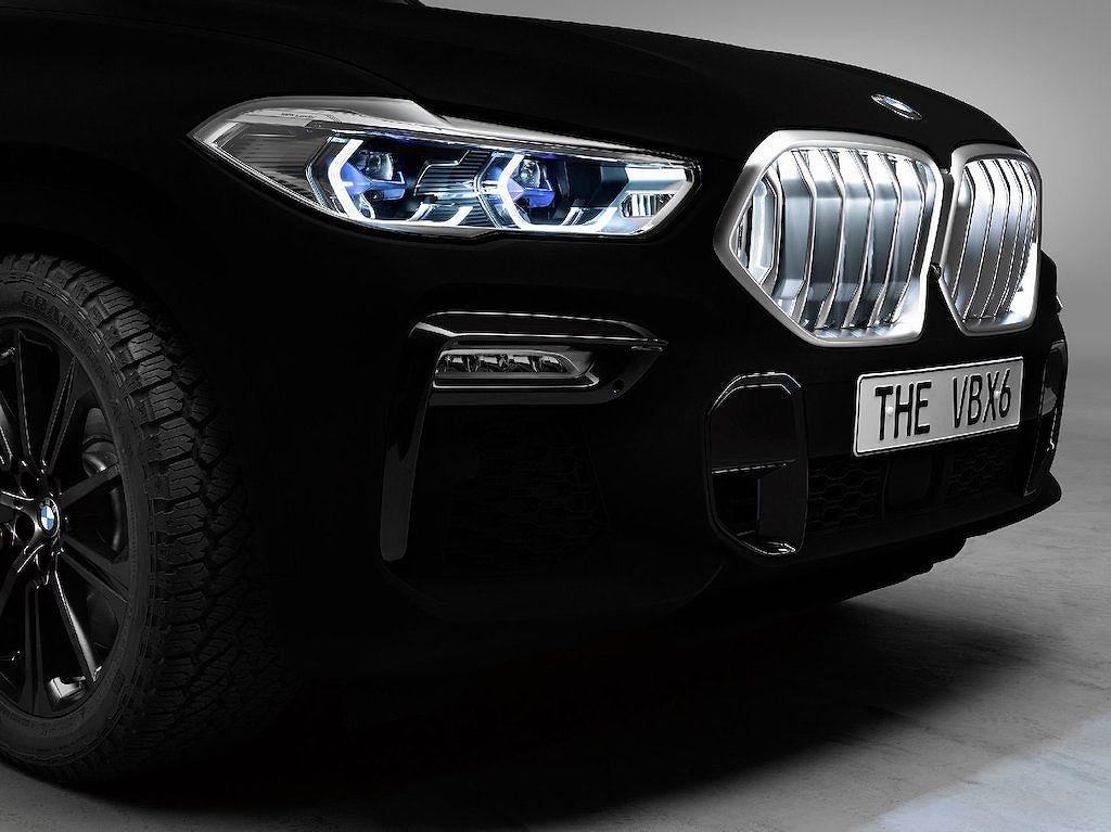 """BMW X6 2020 Vantablack - Phiên bản đặc biệt với màu sơn """"đen hơn than"""" a7"""