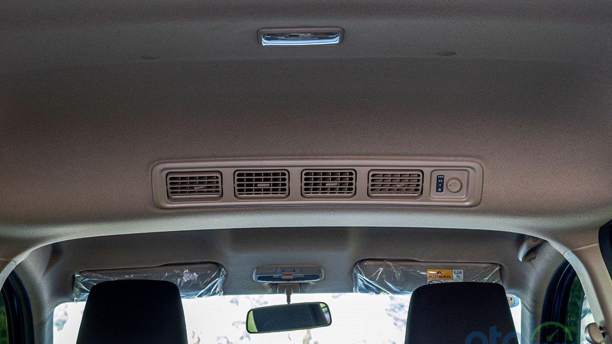 So sánh xe Mitsubishi Xpander 2019 và Suzuki Ertiga 2019: Cửa gió điều hòa 1