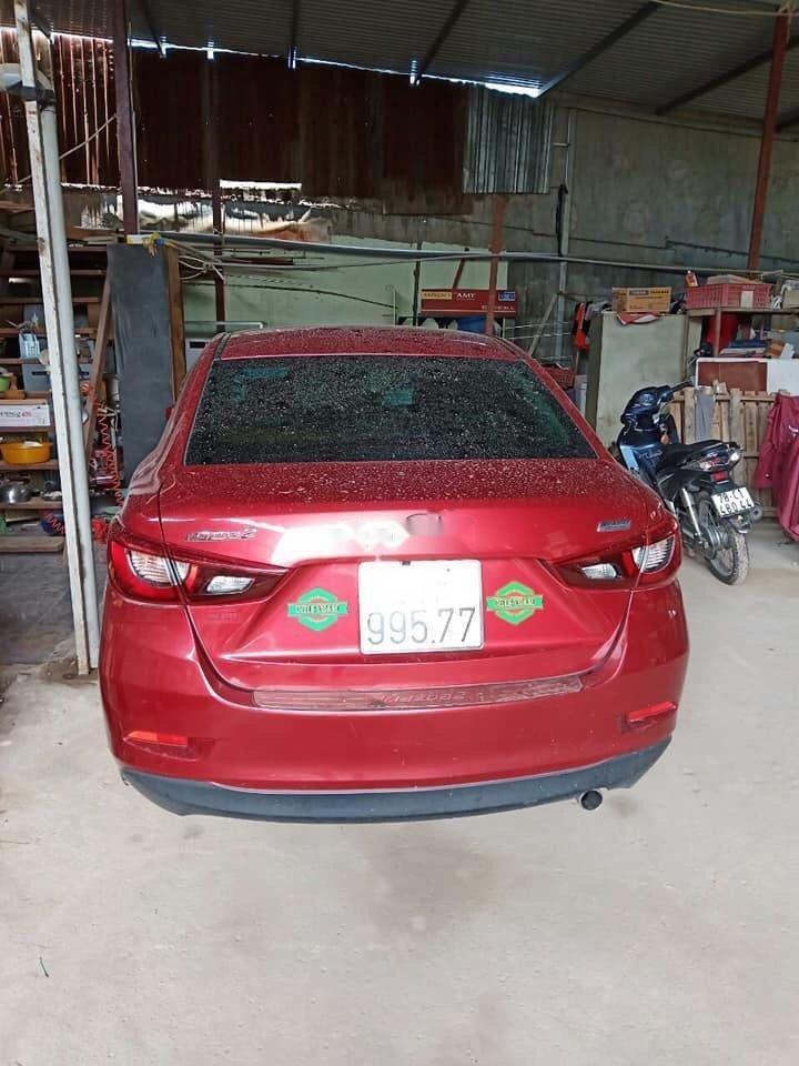 Bán Mazda 2 2016, màu đỏ còn mới, giá tốt (1)