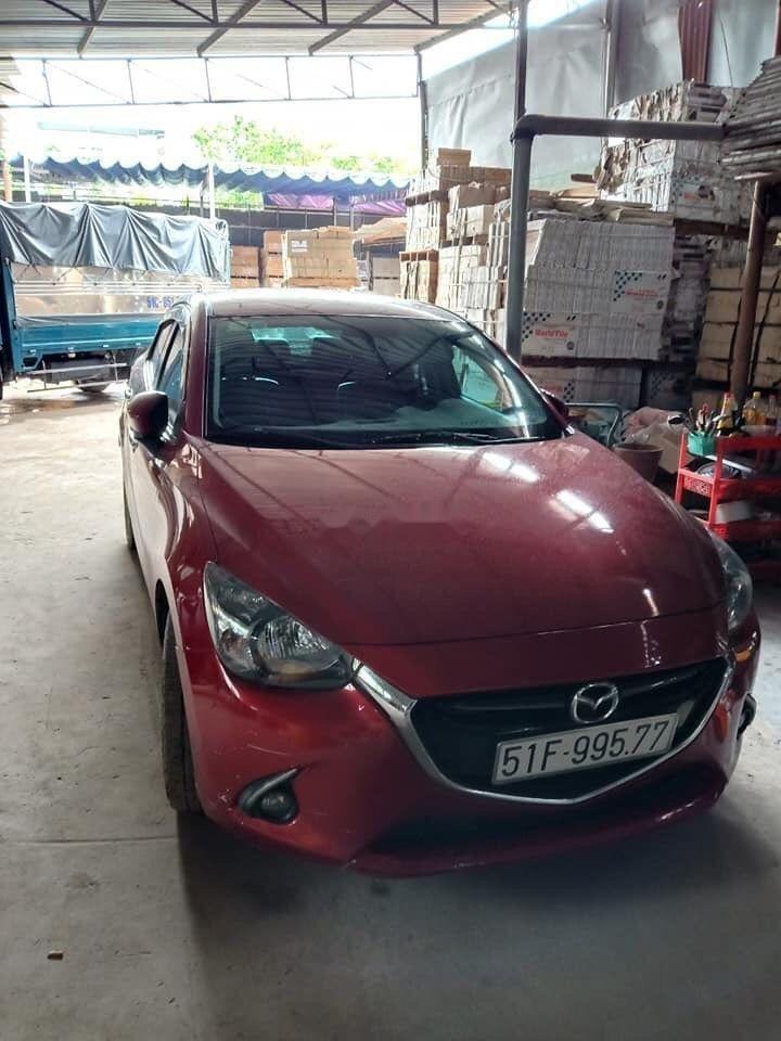 Bán Mazda 2 2016, màu đỏ còn mới, giá tốt (2)