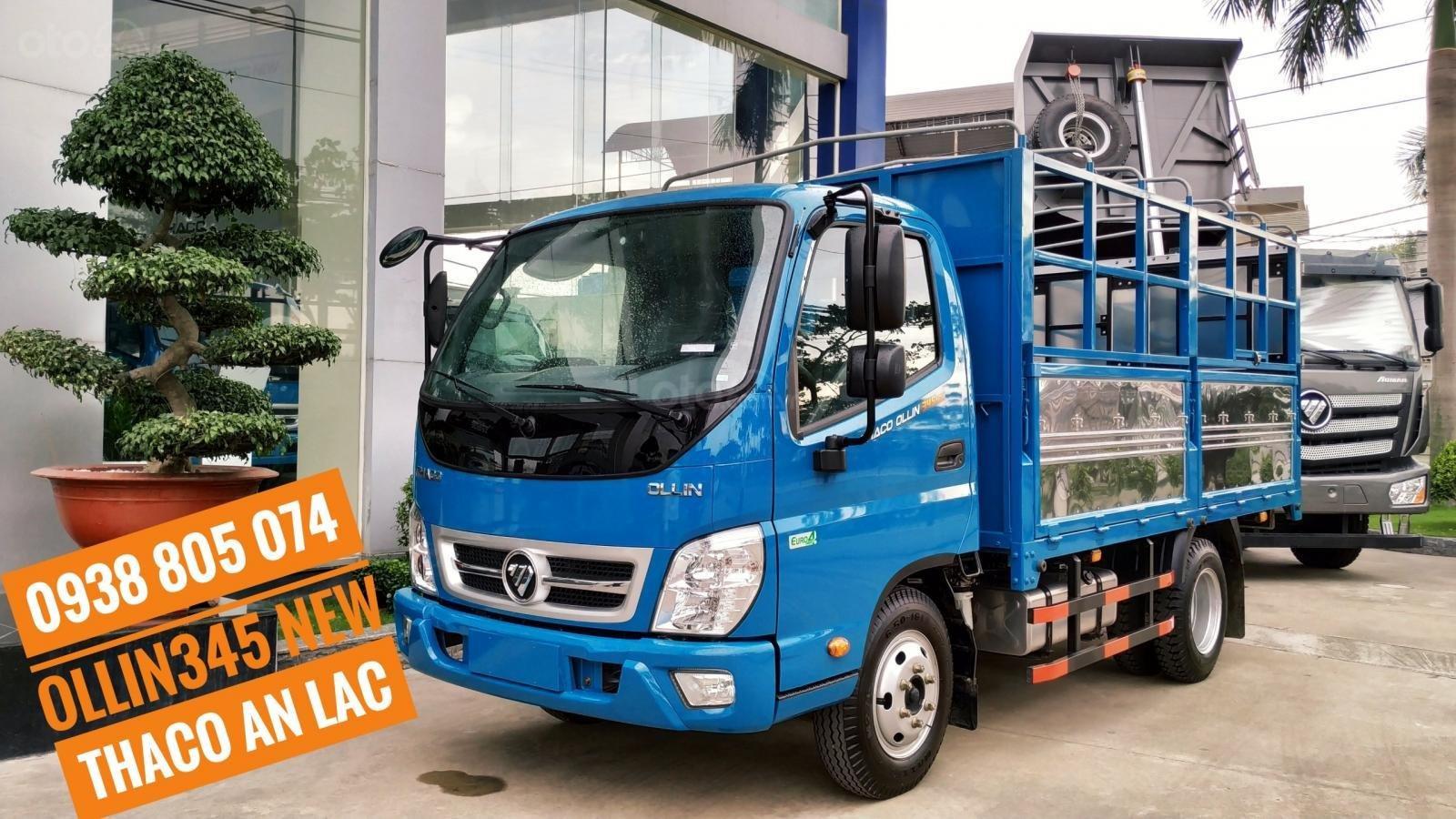 Bán xe tải Thaco Ollin 345. E4 - EURO 4 - tải 2 tấn 4 - mới nhất - hỗ trợ trả góp (1)